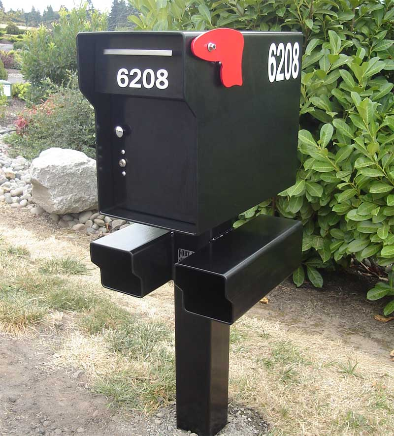 Fort Knox Mailbox Heavy Duty 1 4 Inch Steel Lockable
